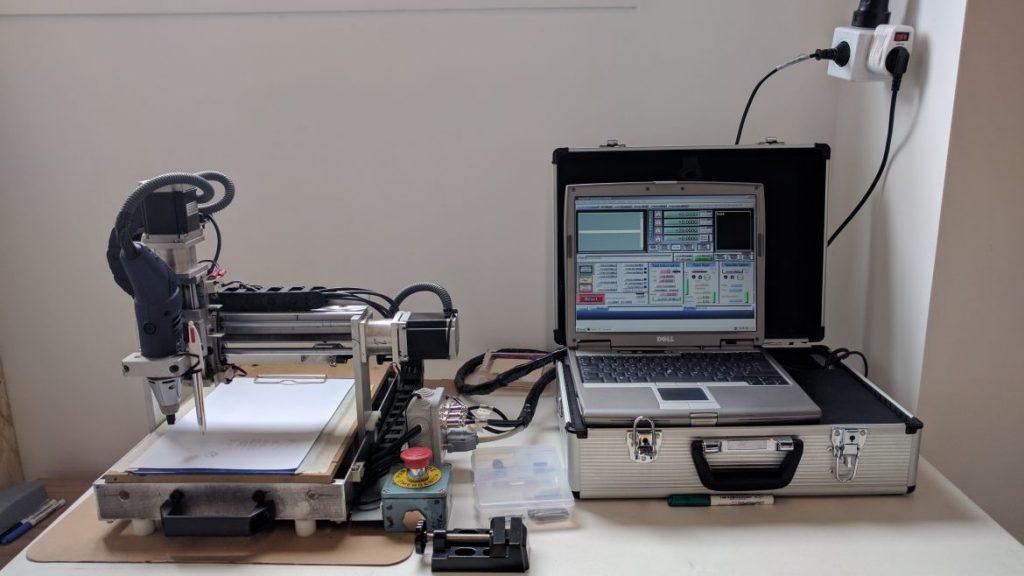 Mini router CNC