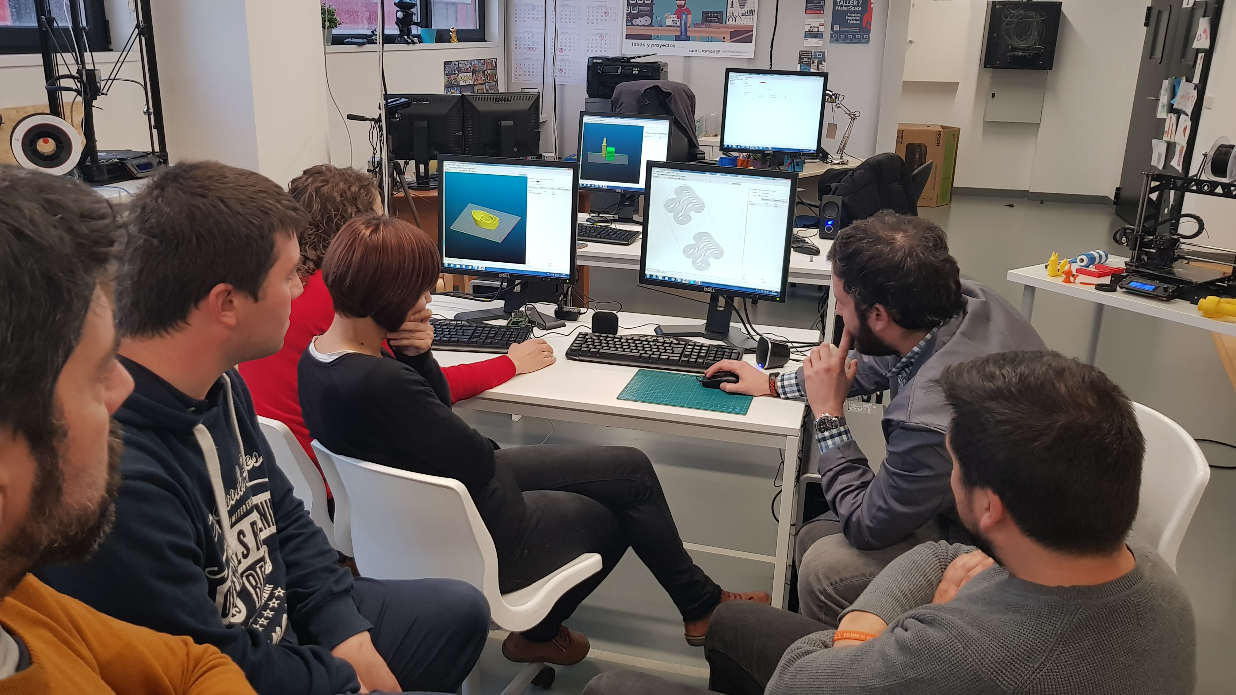 Taller de iniciación al Diseño e Impresión 3D