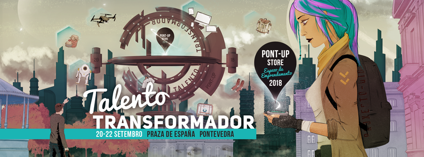 Taller 7 MakerSpace en el Pont Up Store 2018