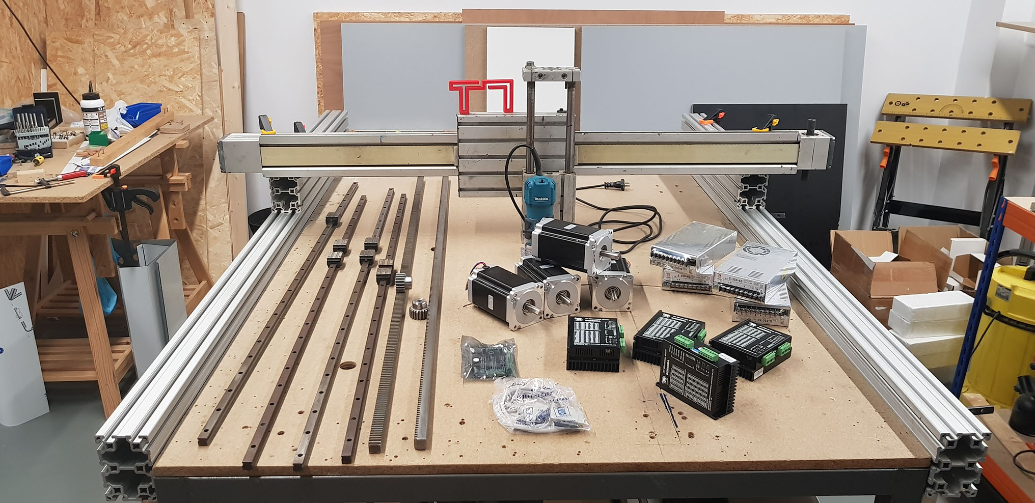Proyecto Router CNC DIY